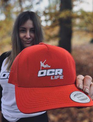 Snapback   OCR life - červená